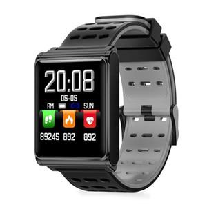 IOS 안드로이드에 대한 N98 스마트 시계 IP67 방수 지원 혈압 심장 박동 모니터 피트니스 추적기 시계 Smartwatch를