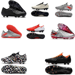 Chaussures de football chaussures de soccer Crampons crampons de football Tiempo Legend Elite 8 R10 Elite FG Crampons Legend VII IC TF Indoor chaussures de football Turf