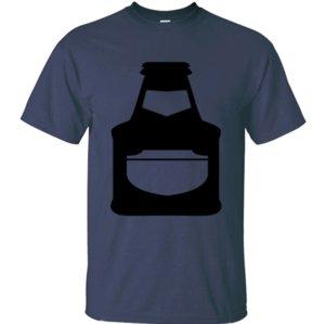Creative Humor beer bottle t shirt men 2020 Formal mens t-shirts big sizes Short Sleeve Unisex top tee