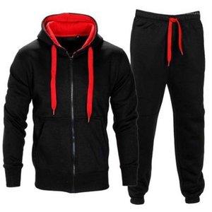 Tişörtü Hırka Kapşonlu Coat kalem pantolon 2adet Giyim Erkek Spor Casual eşofman Mens 2020 Designer ayarlar