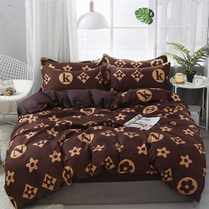 Conjunto de roupa de cama 21style leme folha fronha conjunto de cobertura de edredão set strape aloe algodão cama conjunto de têxteis home edvn #