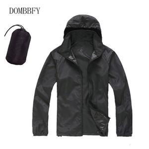 Летний Открытый Quick Dry ВС-защитная куртка Мужчины Женщины Верхняя одежда Ветровки Водонепроницаемая одежда Ultra Light Тонкие куртки