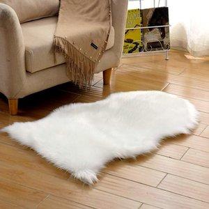 Wool Plush Carpet Bedroom Living Room Covered Mattress Floor Mat Rugs Cushion Sofa Carpet Shaggy Juwr#
