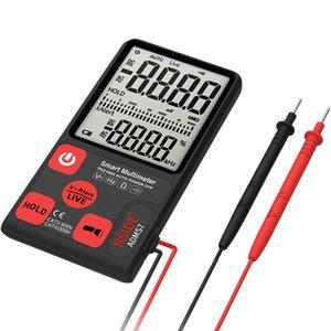 "Adeeing ADMS7 Portable Digital Multimeter Large 3.5"" LCD 3-Line Display Voltmeter With Voltage NCV Resistance Ohm Hz Tester"