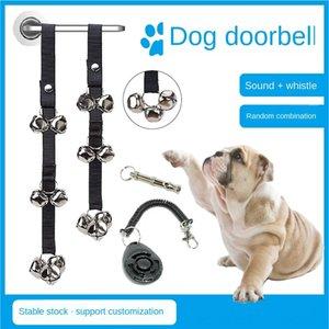Pet двери веревка дразнить кошки собаки из сигнализации игрушки игрушки дверного звонка животного колокола веревки