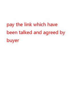 payer le lien whihc par accord entre l'acheteur ASLO pouvez envoyer un message la photo une taille sur l'oder
