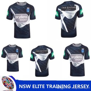 NSW STATE OF ORIGIN 2018 ELITE TRAINING TEE LIGHT BLUE NSW Blues New South Wales Blues rugby jerseys 2018 CAPTAINS HOLDEN shirts size S-XXXL