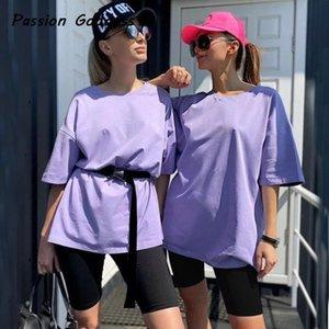 Street Women 2 Piece Khaki Suits Oversized T Shirts Slim Five Leggings Biker Shorts Set with Belt Joggers Set Two Piece Outfits