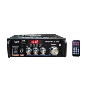 Home Amplifiers HiFi Subwoofer Home Theater Sound System Audio Car Amplifiers Player Remote Control