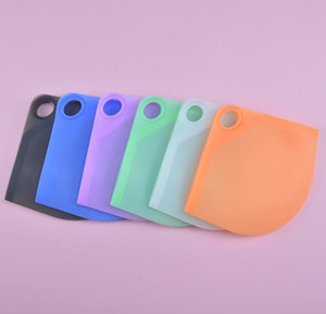 Silicone Mask Organizer 6 Colors Portable Dustproof Face Mask Holder Case Storage Clip Bag Moisture-proof Cover SN1560
