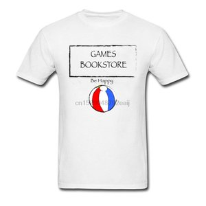 Games Bookstore Casual Father Day 100% Cotton Round Collar Male Tops Tees Custom Sweatshirts Slim Fit Short Sleeve Top T-Shirts