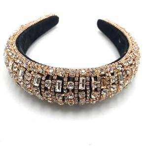 2020 New Jewel Design Haar-Band-handgemachter Barock Glitzern Schöne Stirnband Voll Dekorieren Verschiedene Strass