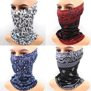 DHL Shipping Bandana Multifunctional Headwear Ciclismo Seamless Máscara Facial Headband Magia lenço da garganta fole Máscaras Pesca cara BWC620