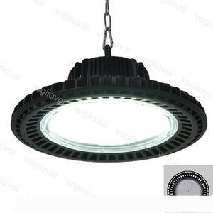 LED High Bay Lights UFO 50W 100W 150W 200W Waterproof IP65 Aluminium 6500K 90° Cover For Industrial Warehouse Exhibition Workshop Garage DHL