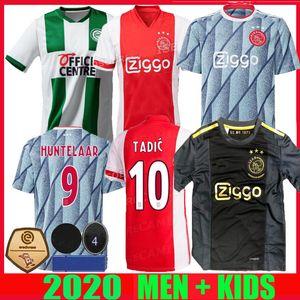 Ajax 20 21 camisetas de fútbol FC Groningen TERCER 50 Aniversario Robben 2020 2021 Huntelaar neres van de Beek Tadic hombres hijos camisetas de fútbol