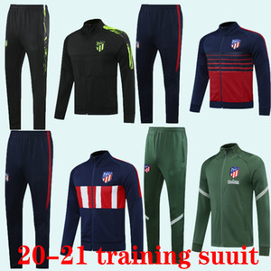 2020 2021 JOÃO FÉLIX tuta rivestimento di calcio 20 21 camiseta de fútbol LLORENTE giacca di calcio lungo cerniera tuta JOAO FELIX