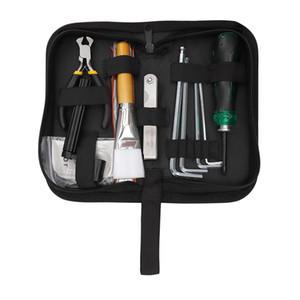 Bass Guitar Repair Kit de ferramentas para Medidor de Manutenção de Cordas Ação de Cordas