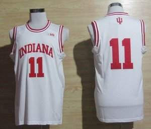 Hoosiers Isiah Thomas #11 retro Top college basketball jerseys College Basketball Jersey Custom Any Name and Numbe vest Jerseys