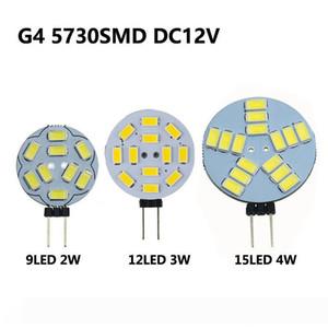 9 12 15 leds DC12V Corn Bulb G4 LED Lamps 2W 3W 4W Lights SMD5730 Lampada Led
