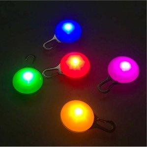 LED-Licht Hundehalsband-Glühen Anhänger Dog Night Out Sicherheits-Taschenlampe Katze Hund im Freien Halsbänder Festival-Feiertag Halskette Luminous Dekor LSK317