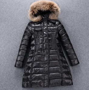 new woman suyen down jacket UK popular anorak down coat winter Outerwear hooded parkas high quality original brand package