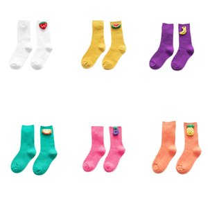 Children's Socks Cute Jewelry Baby Double Needles in Tube Socks Girls Cute Student