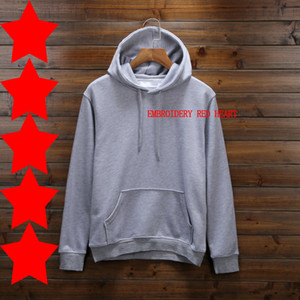 Fashion Designer Hoodies Autumn Spring Sweatshirts Mens Hoodie Loose Casual Hoodie Men and Women Thick Heart Embroidery Pullover Asian Size