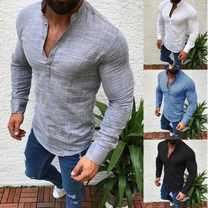 New Men Long Sleeves Polo Summer Fashion Casual Cool T Shirt Slim Fit Tees Tops