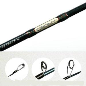 Alta qualidade Pesca Rod Special Lure Fishing Rod Spinning / Fundição alto carbono ultraleve Distância Jogando Rod Peixe Equipamento