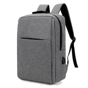 0ub9a Xiaomi Huawei business trip computer double shoulder anti-theft Computer travel bag backpack USB port multi-function large capacity Tr
