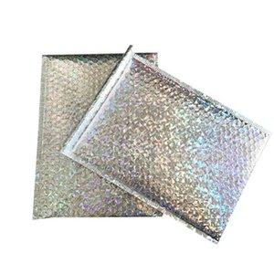 DHL Бесплатная почта Сумки CD CVD Упаковка Доставка Bubble Mailers золото бумага Конверты Подарочная сумка Bubble почтовый конверт сумка