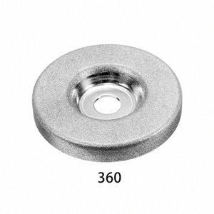 1шт 56мм 180/360 Grit алмазный шлифовальный круг Grinder камень точилка Угол резки колеса Роторный инструмент Jq8Z #