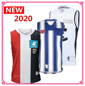 new new 2020 alle Team AFL Jersey North Melbourne Kangaroos Adelaide Crows St. Kilda Saints Carlton Blues Richmond Tigers Rugby Jersey Singulett