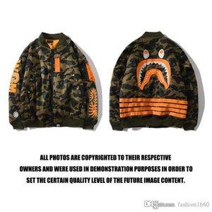 야외 스포츠 스웨터 2020 원숭이 남성의 재킷 패션 긴 소매 재킷 힙합 스타일 문자 인쇄 만화 위장 빛 P3