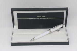 일련 번호 펜 실버 트림 문구 학교 사무 용품 최고 품질의 163 볼펜 화이트 바디