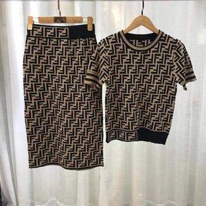 Дизайнерские платья женщин Женские рубашки + юбка костюмы девушки Midi юбки костюм Sexy Party Club Slim Fit платье летние платья 2020