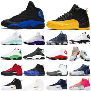 nike air jordan retro 12 13 Üniversite Altın 12 s Hiper Kraliyet 13 s basketbol ayakkabı Flint Oyun Alanı OVO Taş Mavi bayan erkek eğitmenler açık spor sneakers