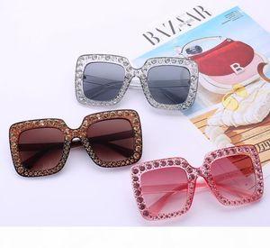 I Retro Vintage Cat Eye Crystal Sunglasses Luxury Rhinestone Sun Glasses For Women Designer Ladies Oversized Sunglasses Wholesaledr3562