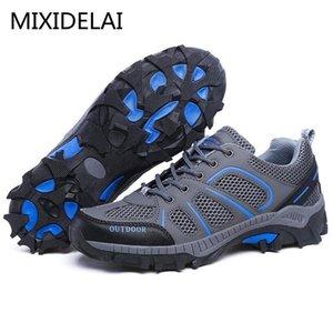2020 MIXIDELAI Neue Outdoor-Herren Schuhe Bequeme Freizeitschuhe Männer Art und Weise Breath Wohnungen für Männer Turnschuhe zapatillas zapatos12f1 #
