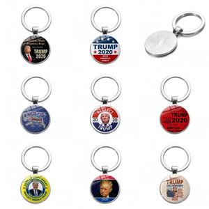 TRUMP Keychain Jahrestag Amerika General Election Key Buckle US-Präsident Badge Schlüsselanhänger Auto Lustige Taschenanhänger 1 3SX E2