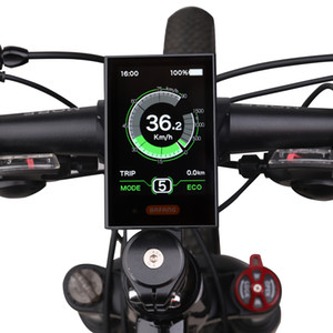 Bafang DPC18 Full Color LCD Electric Bicycle Display Mid Hub Motor 36V 48V 52V 250W 750W 1000W E-bike 8FUN Indiactor USB Port CE