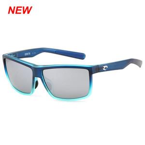 Uomo fine Costa occhiali da sole 580P NUOVO RIC 11 Protezione UV polarizzata lente Surf / pesca bicchieri donne design di lusso occhiali da sole BoxCase