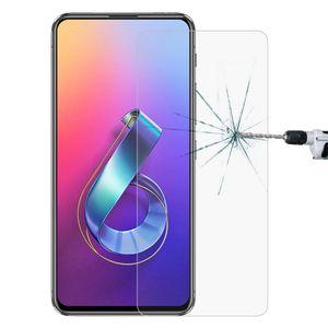 Asus Zenfone 6 ZS630KL için 0.26 9H 2.5D Temperlenmiş cam film