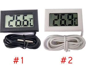 Mini LCD Digital Thermometer Precise Digital Temp Meter Temperature Instrument Sensor Waterproof Design Analyzers Temp Meter DHB494