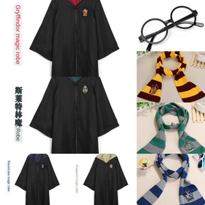 Harry-Schal-Mantel Weste Potter Mantel Mage Robe Cosplay Zauberstab Brille binden Schal Pullover Weste Animation zeigen