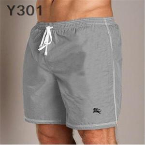 KISA MESH GYM KISA DP Pantolon Bay Bayan marka Casual Gevşek Plaj Sokak Hip Hop Spor Sweatpants Burberry