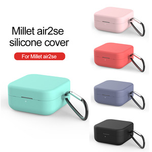 Per Xiaomi Air2 SE Wireless auricolare Bluetooth Air 2SE Air2se cuffie di copertura anti-goccia Polvere Storage Box Con Hanging fibbia