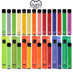 Neueste PUFF BAR PLUS 800 + Puffs Einweg Vape Pen 550mAh Akku 3,2 ml Pods Cartridges Pre-Filled e CIGS Limited Edition Vaporizer Geräte