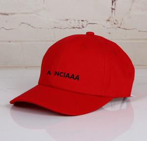 20SS Nouvelle lettre de broderie Casquette de baseball Rue Cap Mode Hommes Femmes Couple de haute qualité chapeaux d'été HFXHMZ018
