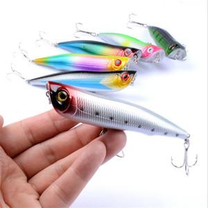 30pcs Floating Pencil Fishing Lure 15.8g 10.5cm Artificial Hard Baits Carp Fishing Wobbler Minnow Bass Pike Bait Fake Lure